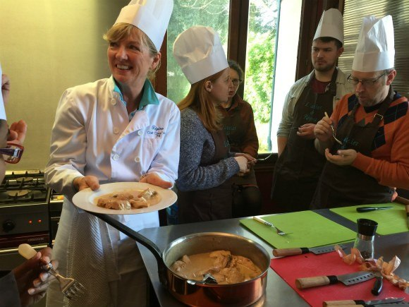 Cookery class Chez Regine near Le Havre in Normandy Photo: Heatheronhertravels.com
