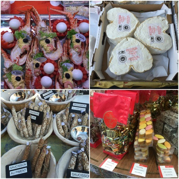 Food in the Market at Le Havre in Normandy Photo: Heatheronhertravels.com
