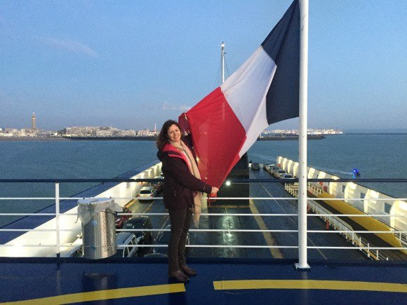 Leaving Le Havre on Brittany Ferries Photo: Heatheronhertravels.com