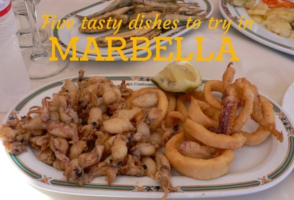 Five tasty dishes from Marbella, Spain