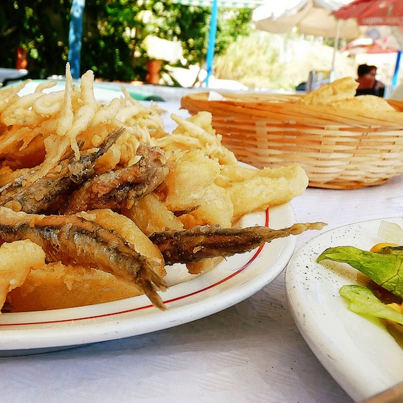 Pescaito Frito for lunch Photo: Dorte on Flickr