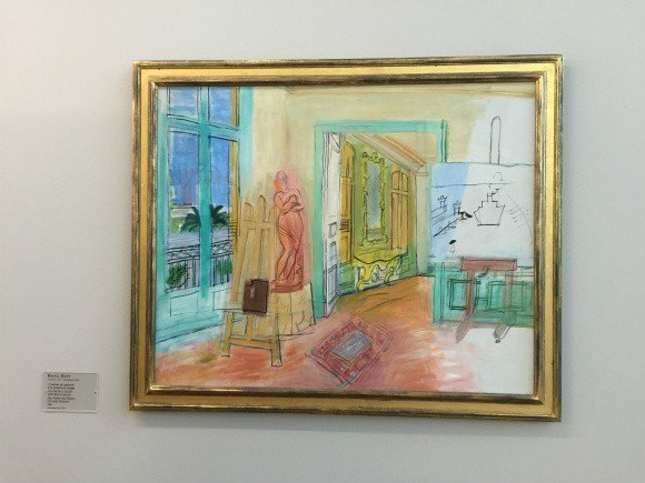 Raoul Duffy paining at MUMA in Le Havre in Normandy Photo:heatheronhertravels.com