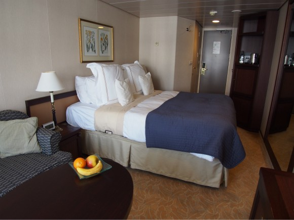 Stateroom on board Azaamara Journey
