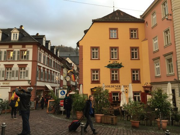 The Old Town of Heidelberg Photo: Heatheronhertravels.com