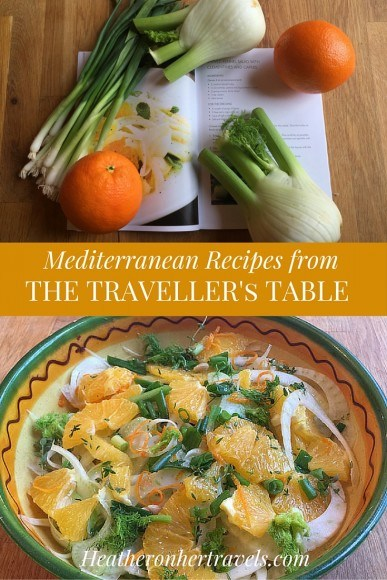 Get the delicious Mediterranean Recipes from the Traveller's Table