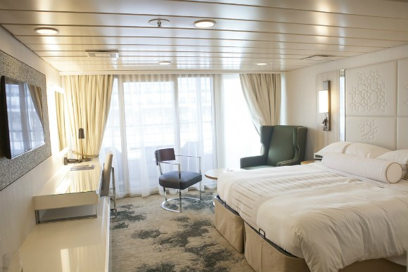 Updated Stateroom on Azamara Journey Photo: Azamara Club Cruises