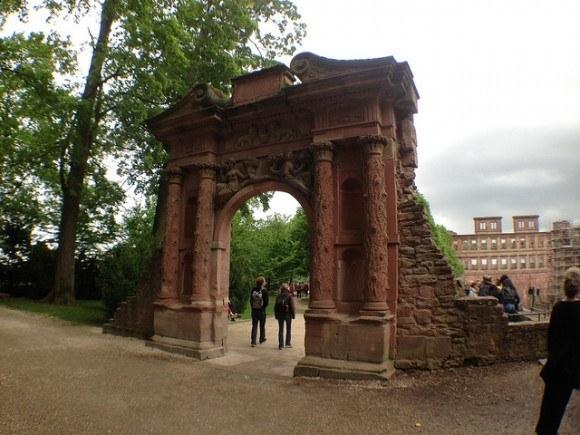 The Elizabeth Gate at Heidelberg Castle Photo: Heatheronhertravels.com