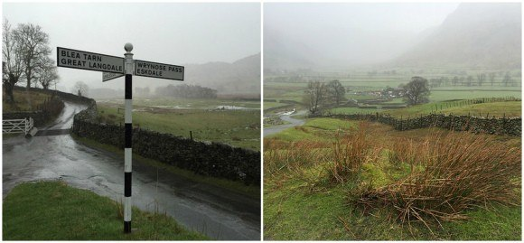 Langdale Valley in the rain Photo: Heatheronhertravels.com