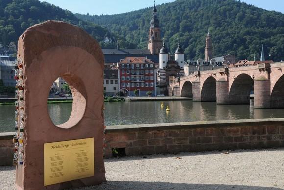Love stone or Liebesstein in Heidelberg Photo: Heidelberg Marketing