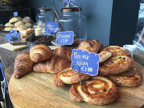 Pastries at Lovingly Artizan Station Cafe Oxenholme Photo: Heatheronhertravels.com
