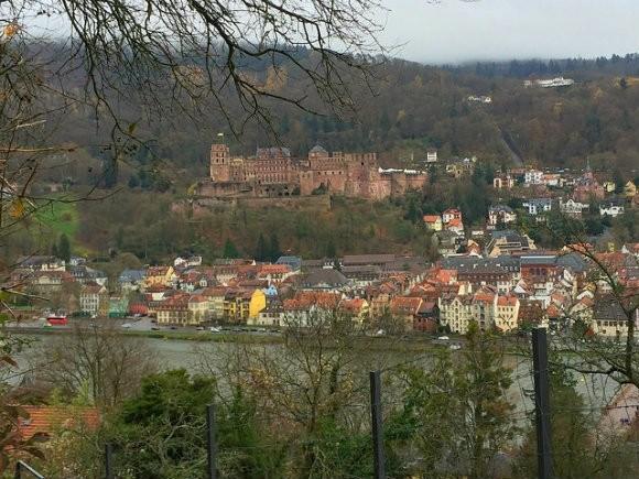 Philosopher's Way in Heidelberg Photo: Heatheronhertravels.com