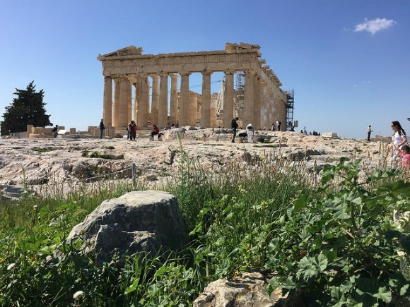 Acropolis in Athens Heatheronhertravels.com