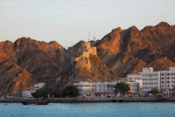 The Coastline at Muscat in Oman Photo: AudleyTravel.com