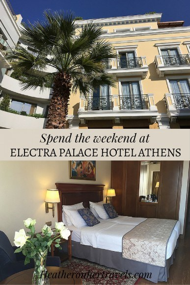 Read about our stay at Electra Palace Hotel in Athens