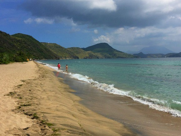 Friar's Bay beach on St Kitts Photo: Heatheronhertravels.com