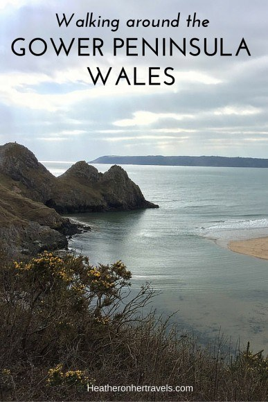Read about walking around the Gower Peninsula in Wales