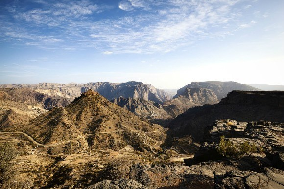 Jebel Akhdar Mountains in Oman Photo: AudleyTravel.com