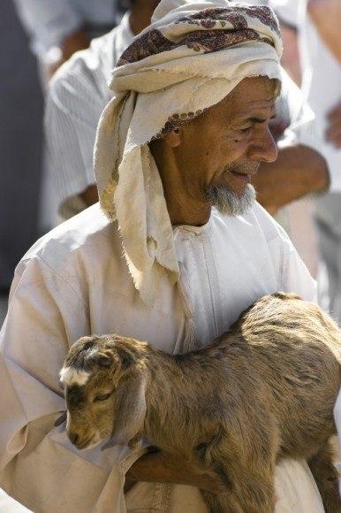 The Nizwa Livestock Market in Oman Photo: AudleyTravel.com