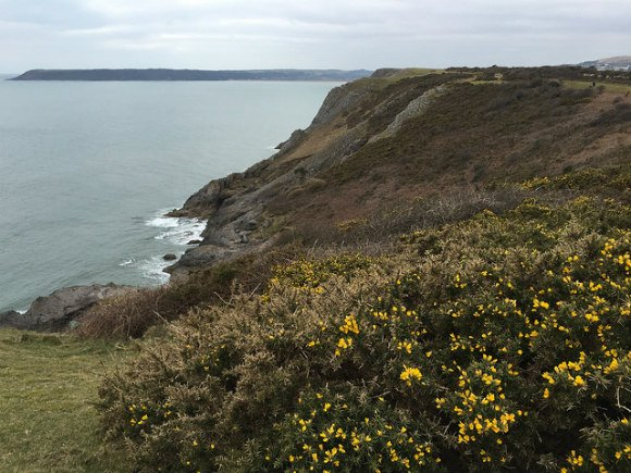 Pennard Cliffs on the Gower, Wales Heatheronhertravels.com