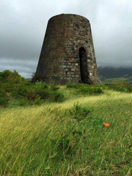 Sugar mill on St Kitts Photo: Heatheronhertravels.com