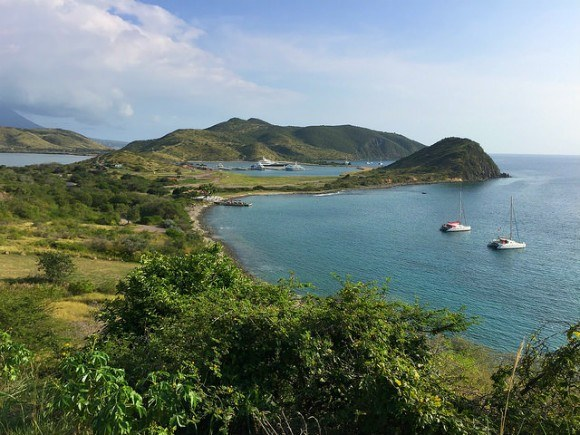 View of Christophe Harbour on St Kitts Photo: Heatheronhertravels.com