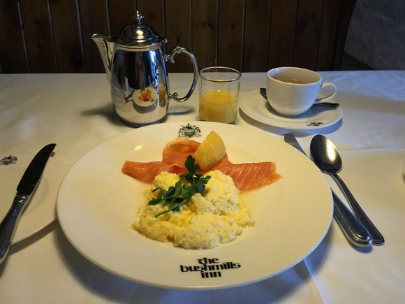 Breakfast at Bushmills Inn on Northern Ireland's Causeway Coast Heatheronhertravels.com