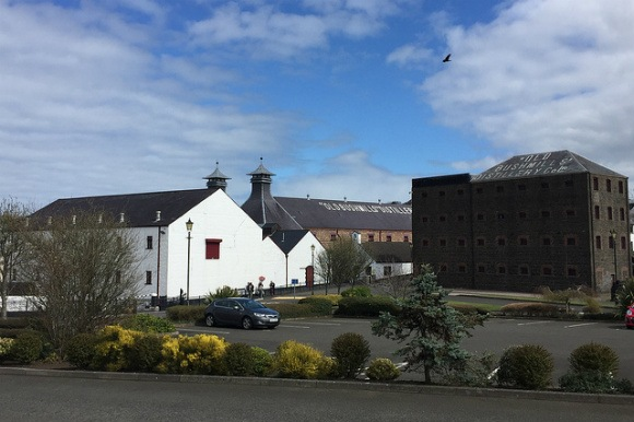 Bushmills Whiskey Distillery in Bushmills Heatheronhertravels.com