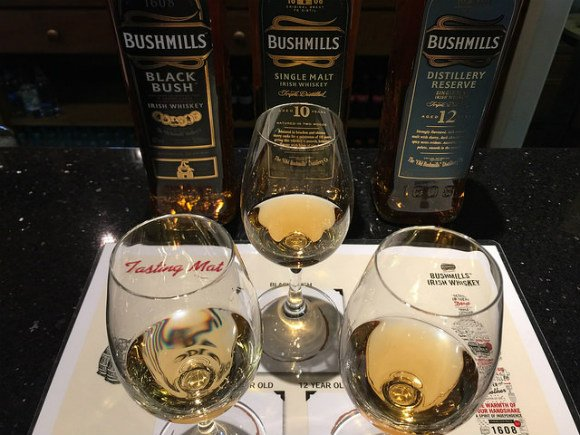 Bushmills Whiskey tasting Heatheronhertravels.com