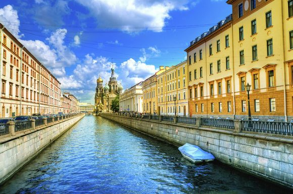 Canal, St Petersburg Photo: Audley Travel
