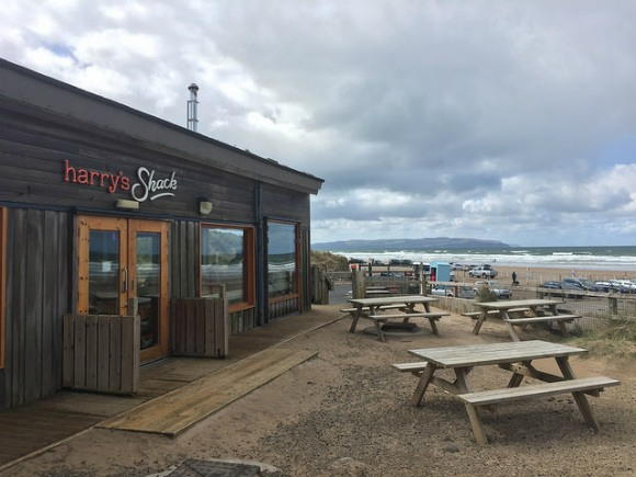Harry's Shack at Portstewart on Northern Ireland's Causeway Coast Heatheronhertravels.com