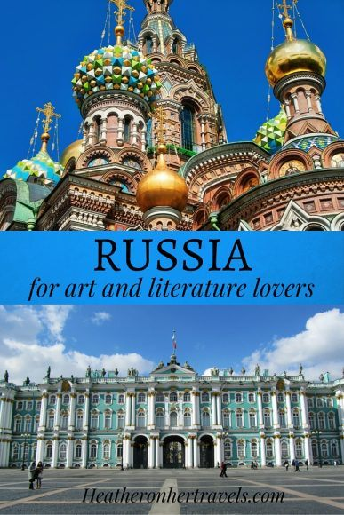 Read about Russia for art and literature lovers