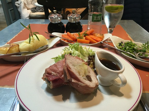 Sunday lunch at The French rooms in Bushmills Heatheronhertravels.com