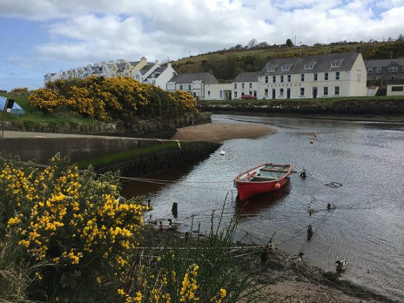 The harbour at Cushendun Heatheronhertravels.com