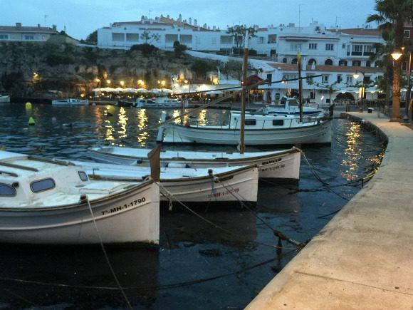 Boats in the harbour at Cales Fonts Photo: Heatheronhertravels.com