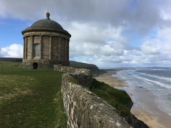 Mussenden temple at Downhill Demesne Heatheronhertravels.com