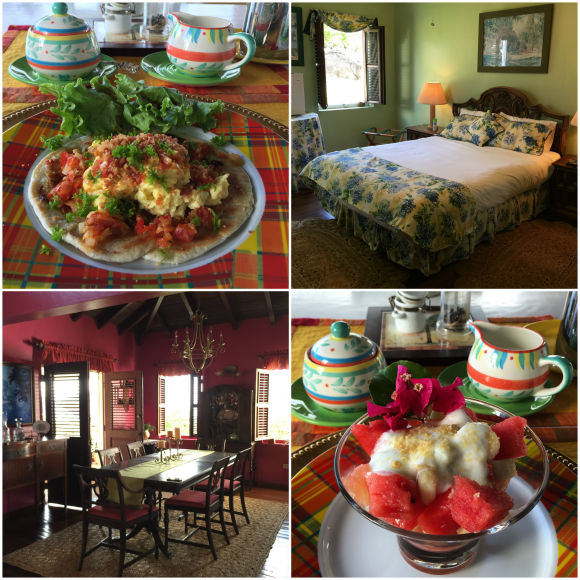 Rockhaven bed and breakfast in St Kitts Photo: Heatheronhertravels.com