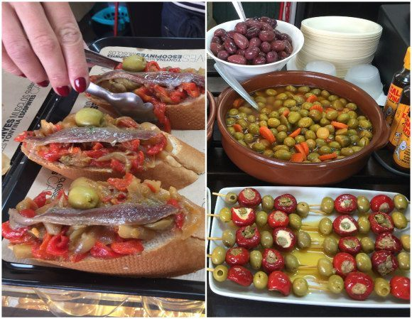 Tapas in the fish market of Mahon Photo: Heatheronhertravels.com
