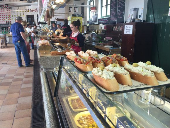 Tapas in the fishmarket Photo- Heatheronhertravels.com