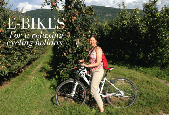Are e-bikes the answer for a relaxing cycling holiday?