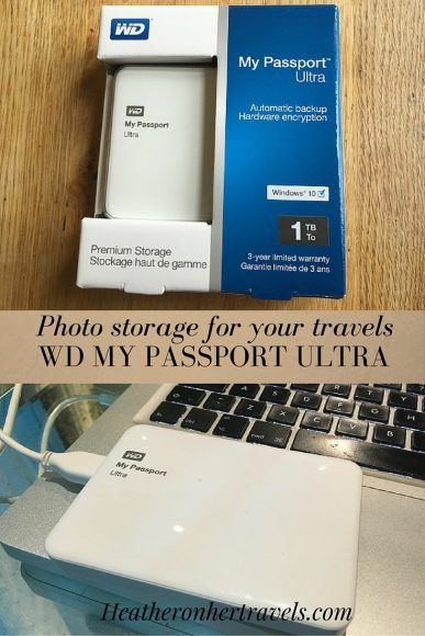 Read about the WD My Passport Ultra