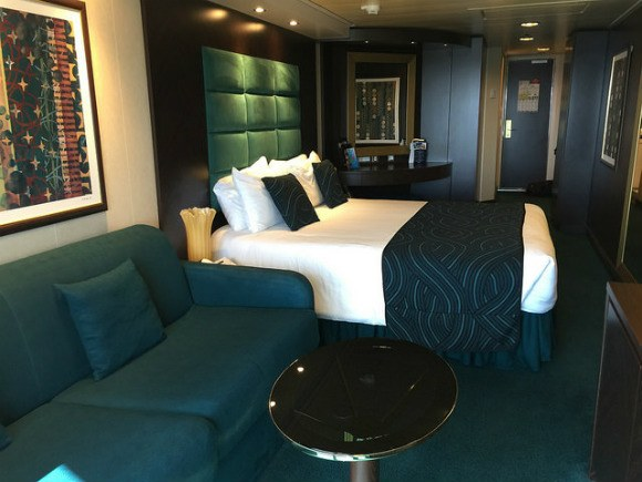 The Stateroom on board MSC Splendida Heatheronhertravels.com