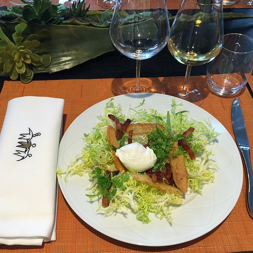 Lunch at Institut Paul Bocuse Photo: Heatheronhertravels.com