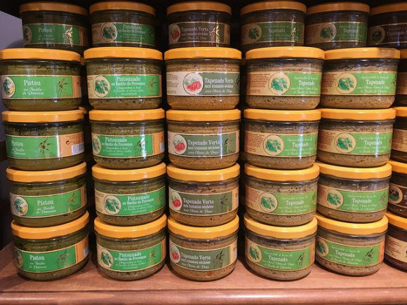 Tapenade of Provence on sale in Avignon Photo: Heatheronhertravels.com
