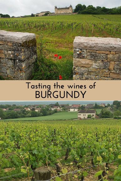 Read about tasting the wines of Burgundy