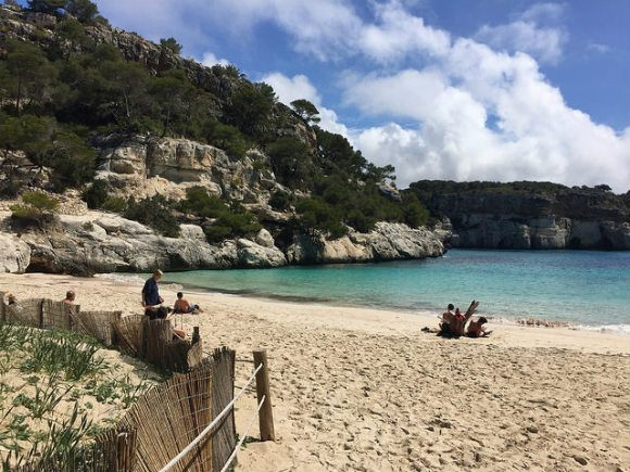 Cala Macarelleta, Menorca Photo: Heatheronhertravels.com