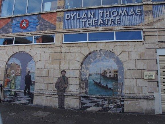 Dylan Thomas theatre in Swansea Photo: Heatheronhertravels.com