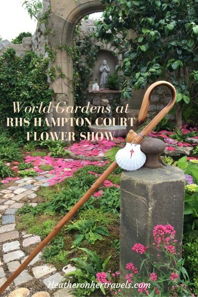 Read about the world gardens at RHS Hampton Court Flower Show