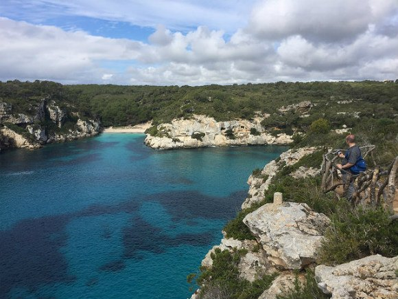 The cliffs above Cala Macarella, Menorca Heatheronhertravels.com