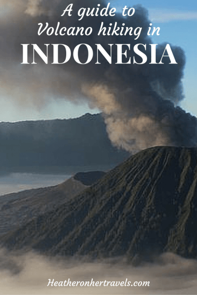 Read about volcano hiking in Indonesia