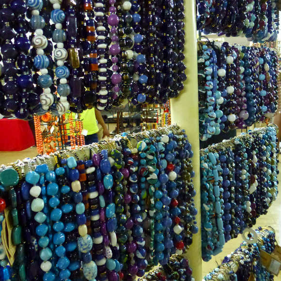 Beads made by local women in Kenya Photo: Audley Travel